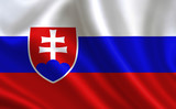 Slovak flag. Slovakia flag. Flag of Slovakia. Slovakia flag illustration. Official colors and proportion correctly. Slovak background. Slovak banner. Symbol, icon.