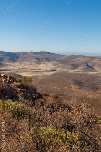 Fotobehang Diepbruine Great Karoo South Africa