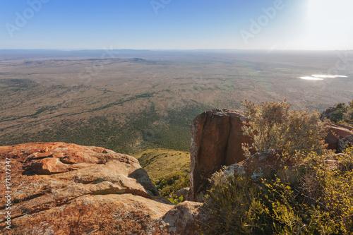 Aluminium Blauwe hemel Great Karoo South Africa