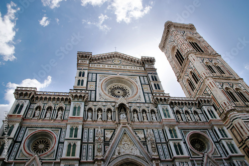 Cathedral of Santa Maria del Fiore in Florence Tuscany Italy Poster