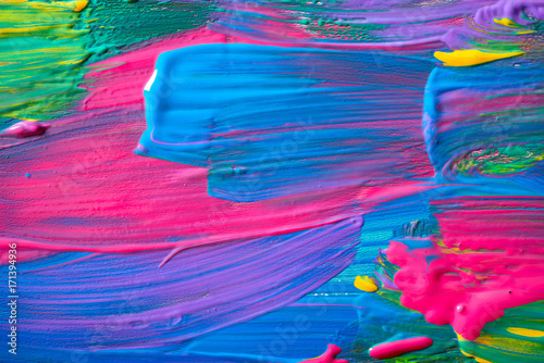 Foto op Plexiglas Abstract wave Abstract art background. Hand-painted