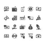 Money flat icons. - 171398553
