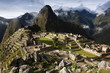 Machu Picchu during the wet season, Peru, South America
