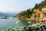Flowers at Varenna, Lake Como, Italy - 171416167