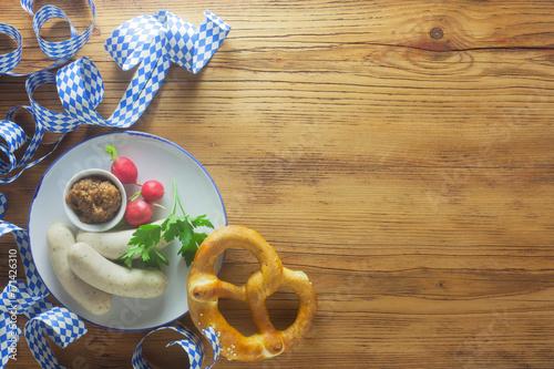 Weißwurst Background - 171426310