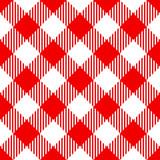 Red check diagonal seamless pattern - 171426527