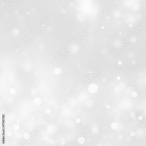 White Crystals Abstract Background