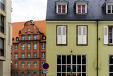 Traditional houses in La Petite France, Strasbourg, Alsace, France - 171446357