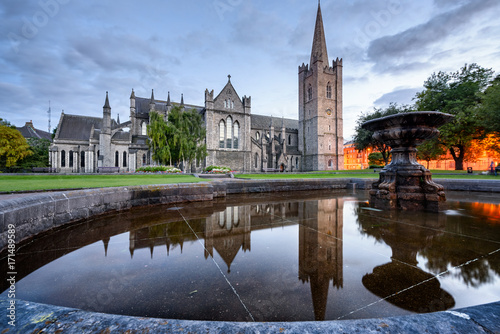 St Patrick Cathedral Dublin Ireland Poster