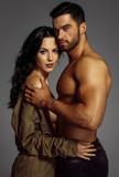 Portrait of beautiful couple - 171494569