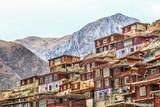 Tibetan town in the mountains