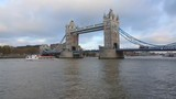 Tower Bridge Over Thames River in London - 171514121