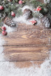 Christmas background on wooden - 171530179