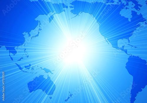 Fotobehang Wereldkaarten 世界地図