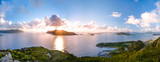 Fototapety Norwegen - Geiranger Fjord Landschaft