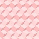 Vintage Geometrical pink Pattern Design