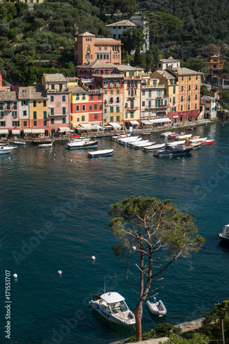 Papiers peints Ligurie Port de Portofino , Italie , Golfe de Gênes