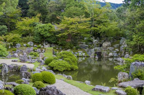 Deurstickers Kyoto 醍醐寺 庭園