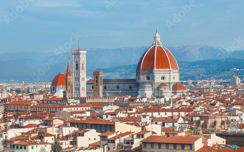 Wall mural Florence cathedral Duomo