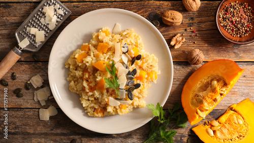 pumpkin risotto - 171579140