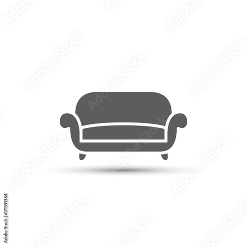 Sofa Icon Vector Illustration Buy Photos Ap Images Detailview