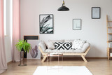 Fototapety Simple living room with fern