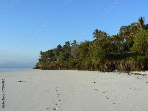 Fotobehang Tropical strand Kenia Afrika