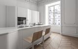 Luxuriöse Designer Küche in Altbau Loft - 171604524