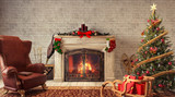 Christmas at home 3D Rendering - 171613516