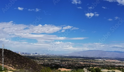 Plexiglas Las Vegas An image of a Las Vegas and Henderson City Landscape..
