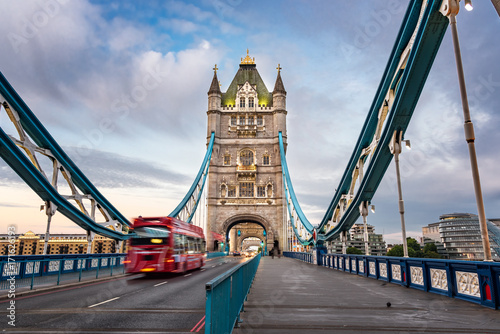 Inside Tower Bridge London UK