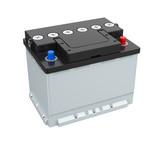 Car Battery Isolated - 171652775