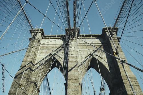 Papiers peints Brooklyn Bridge Brooklyn Bridge, New York City, USA