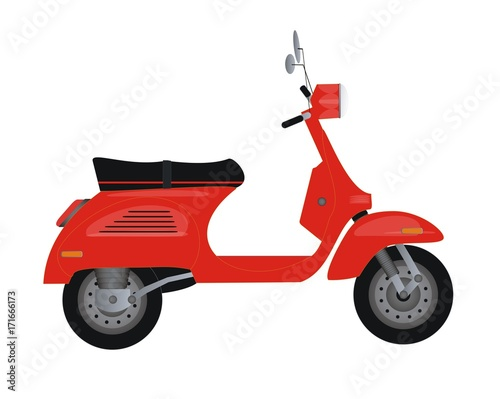 Traveling and scooter transportation