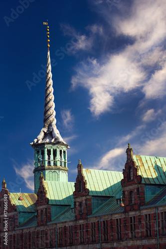 The spire of Borsen Poster