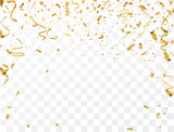 Gold confetti celebration - 171688500