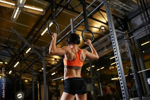 Sticker Female gymnast,