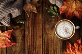 Hot coffee cappuccino - 171710349
