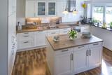 gemütliche Küche in rustikalem Stil - 171717787