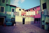 Burano is an island near Venice in northern Italy famous for its - 171719916
