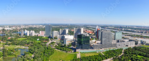 Foto op Canvas Wenen Panorama Wien