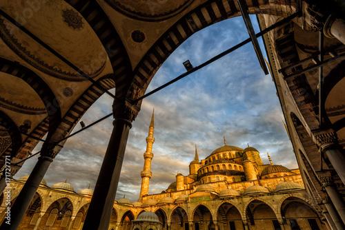 Blue Mosque, Sultanahmet, Istanbul, Turkey Poster