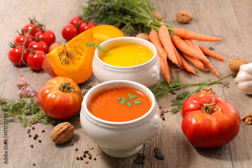 tomato and carrot soup - 171731356