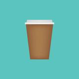 coffee take away- vector illustration