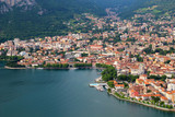 Lecco town on the Como lake, Italy - 171741163