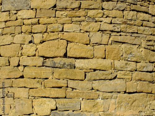Foto op Canvas Baksteen muur Mauer