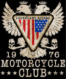 Motorcycle typography, t-shirt graphics, vectors - 171811992