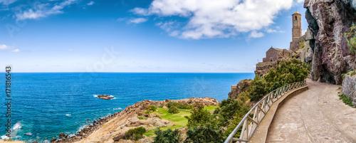 Foto op Aluminium Panoramafoto s Castelsardo