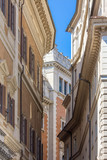 Buildings in small street in Rome, Italy - 171837175