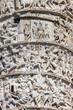 Detail of Marco Aurelio column in Rome, Italy
